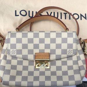 Authentic Louis Vuitton Croisette Damier Azur